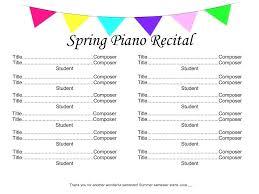 Concert Programme Template Atlasapp Co
