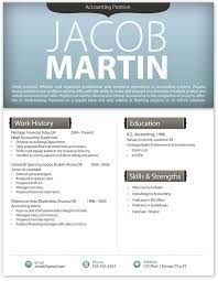 Free Contemporary Resume Templates Modern Template 4 Word All Best