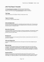 Project Management Executive Summary Example Goal Goodwinmetals Co