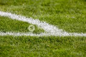 green grass soccer field. Green Grass At The Corner Of Football (soccer) Field Soccer D