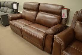 futura 85 reclining leather sofa