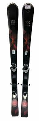 2017 18 Volkl Aura Womens 163 Cm Skis With Warden 13