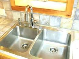 how to install a kitchen sink in a new countertop how to install kitchen sink in