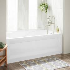 60 cary acrylic alcove tub right white