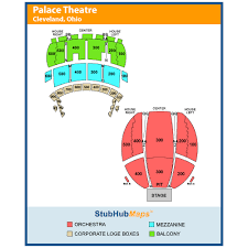Playhouse Square Hamilton Seating Chart Playhouse Square Connor Palace Seating Chart Www