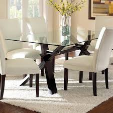 Gorgeous Glass Top Dining Sets Of Room Images Photo Albums On Home