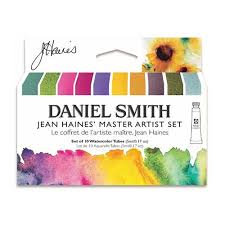 Daniel Smith Watercolour Jean Haines Master Artist Paint Set