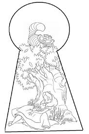 Alice In Wonderland Coloring Pages Books 100 Free And