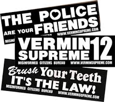 political campaign bumper stickers 2016 us presidential election endorsement vermin supreme