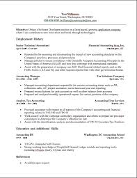 Examples Of Accounting Resumes Delectable Accounting Resumes Examples Musiccityspiritsandcocktail