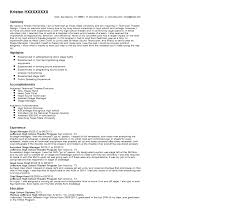 Stage Manager Resume Sample Quintessential Livecareer