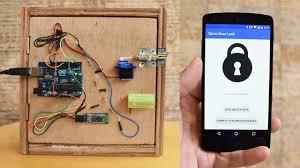 smart front door locksAndroidControlled Arduino Bluetooth Servo Door Lock TUTORIAL