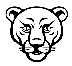 lion face black and white clipart. Delighful Clipart Lion Face Animal Free Black White Clipart Images Clipartblack  Graphic  Royalty Library To Black And White Clipart
