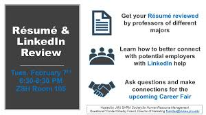 Get Your Resume Reviewed. Free Resume Critique and Resume Review ... JMU  SHRM on Twitter: