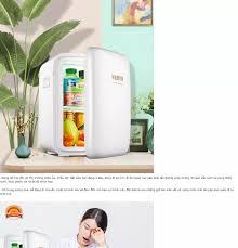 Tủ lạnh mini KEMIN Cao cấp (Dùng cả trên oto xe hơi và trong nhà) - Loại  10L