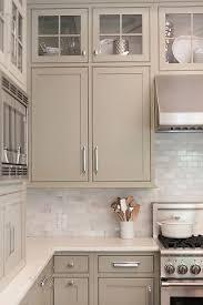 Kitchen Cabinet Paint Color. Neutral Kitchen Cabinets. Neutral Painted  Cabinets. Gray, Greige