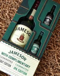 jameson irish whiskey gift set 750 ml bottle