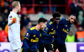 Arsenal stumble through to Europa League knockout stages as Bukayo Saka  rescues draw at Standard Liege