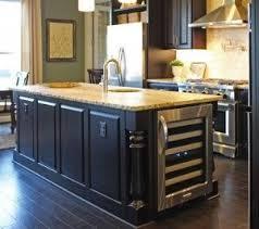 modern kitchen island with wine fridge best in images on pinterest inside innovation ideas