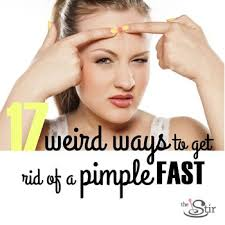 How to get rid of a zit fast
