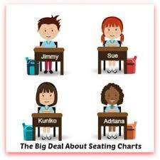Whats The Big Deal About Seating Charts Teaching