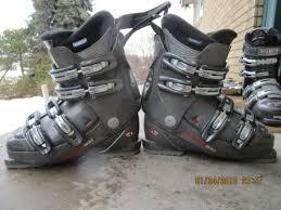 Nordica F5 2w Ski Boots Downhill Womens Aspen Kool Used 285mm 24 5 24 Fit