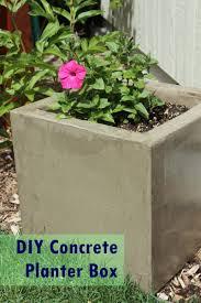 diy concrete planter box gardens planters and alternative view larger