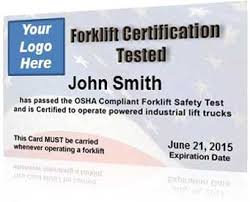 forklift license template download forklift certification kit get your employees forklift certified