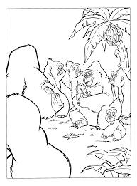 Kleurplaten Paradijs Kleurplaat Tarzan Wordt Opgenomen In De