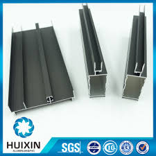 standard size aluminum glass window frame anodized aluminum extrusions