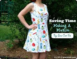 Free Dress Sewing Patterns Beauteous Sew Can Do Dressmaking From A Free Dress Pattern Saving On Muslin