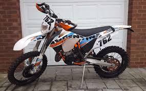 ktm 125 exc six days 2015 argentina enduro mx motocross low use