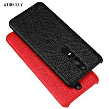 Huawei Porsche Design Mate Rs Case Luxury Lychee Pattern Genuine Leather Phone Cases For Huawei