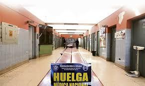 Resultado de imagen para huelga de los médicos en Perú