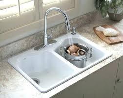 kohler sink strainer basket kitchen sink strainer sinks cookies small how to install kohler black sink