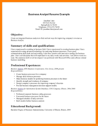 7 Business Resume Objective Self Introduce