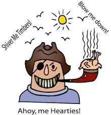 Pirate Phrases - Lingo Words Vocabulary