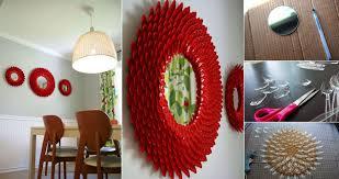 Diy Mirror Projects Diy Plastic Spoon Chrysanthemum Mirror Diy Projects Usefuldiycom