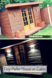 Wood Pallet House Make Your Own Pallet Shed Or Cabin