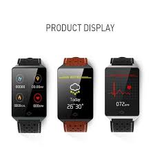 <b>CK19</b> Smart Bracelet Heart Rate Blood Pressure Monitoring <b>1.3 Inch</b> ...