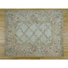 12 x15 fl trellis design thick and plush oversize savonnerie rug g36897 oriental rug galaxy