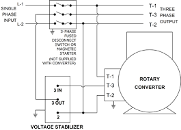 three phase to single phase converter circuit diagram ireleast How To Build Rotary Phase Converter Wiring Diagram homemade rotary phase converter wiring diagram, circuit diagram 3 Phase Rotary Converter Plans