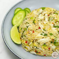 Recipes by Nora – Crab Fried Rice ...