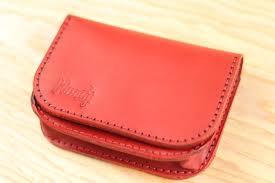 women leather wallet kit