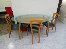 Oval Shape Dining Table Design Beautiful Oval Glass Dining Tables Furniture Room Wonderful