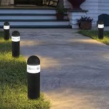 paradise landscape lighting. Paradise Low Voltage Cast Aluminum 1.75W LED Black Bollard Landscape Lighting G