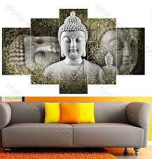 Five pc no frame sleeping buddha oil painting printed oil painting canvas painting posters and prints home decor wall art. Traditional Buddha Buddha Wall Art Canvases Buddha Art Painting Multiple Canvas Paintings