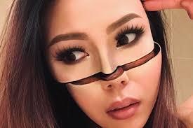 makeup artist mimi choi creates mind ing optical illusions on herself allure