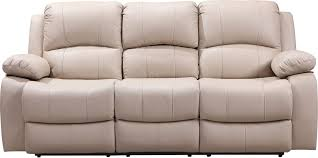 leather italia shae winnfield power reclining sofa in taupe