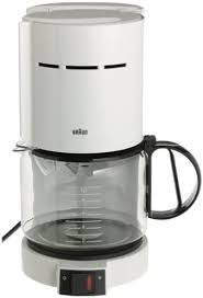 White coffee maker have fine filters that will ensure you can taste the coffee as intended. Amazon Com Braun Kf400 Wh Aromaster 10 Cup Coffeemaker White Drip Coffeemakers Kitchen Dining